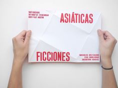 Ficciones Typeface on the Behance Network #poster