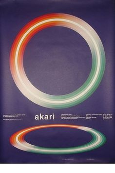 Akari | Flickr - Photo Sharing! #design #graphic #poster