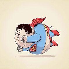Bigfatball – Superman