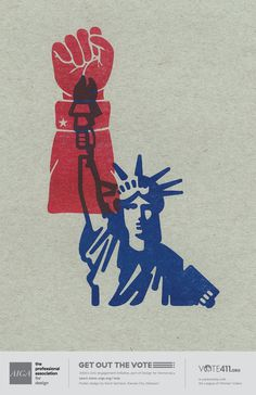 Wonderful US Election Posters Designed to Inspire People to Vote