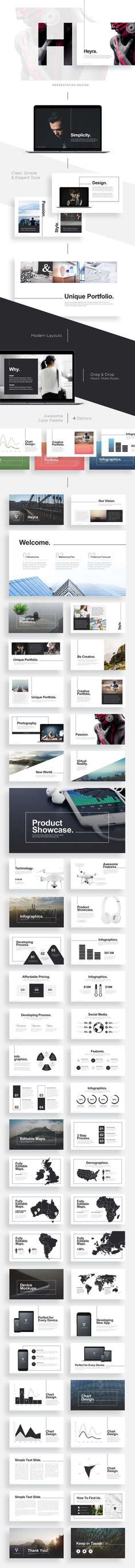 Heyra Presentation Design on Behance