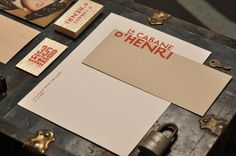 La cabane d'Henri on Behance by y Marie-Laurence Carrière | #identity