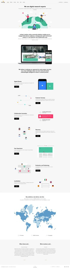 Incling – Landing Page