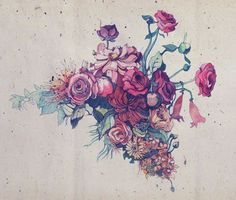 http://media-cache-ak0.pinimg.com/736x/74/fc/0a/74fc0a437ff2950dcf4e7b16dae92146.jpg #tattoo #flowers