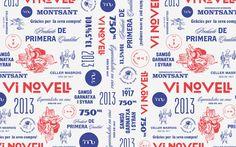 ATIPUS VI NOVELL 2013 021.jpg #pattern #wine #typography