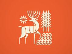 Logo by Brent Couchman #logo #deer #stag
