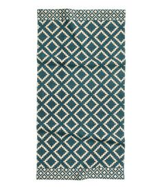 Patterned Cotton Rug, H&M Home