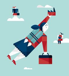 Romualdo Faura / Editorial Illustrations #information #illustration #graphic #character