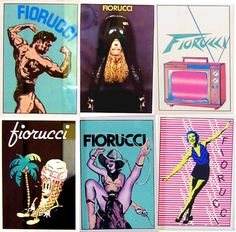 The ads were awesome. #fiorucci #80s