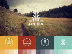 LINDEN // Identity & Brand deck #logo #design #identity #branding