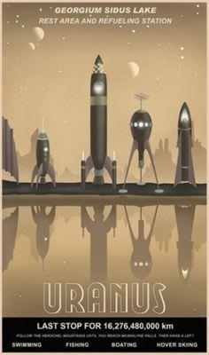 Poster #design #steve thomas #uranus