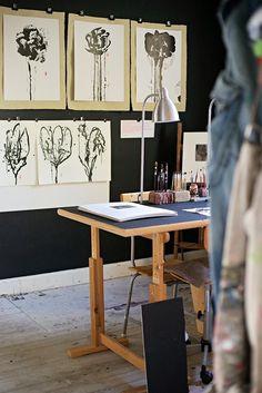 Artist studio in the old vicarage   emmas designblogg