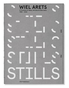 Dezeen » Blog Archive » Competition: five copies of STILLS by Wiel Arets Architects to be won #cover #design #graphic #book