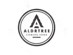 Dribbble - ALDRTREE: Coming Soon by Ben Suarez #badge #logo #vintage #type #aldtree