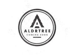 Dribbble - ALDRTREE: Coming Soon by Ben Suarez #badge #logo #vintage #type #aldtree