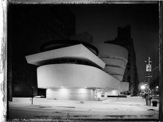 New York Sleeps, Christopher Thomas - Creative Journal #film #white #guggenheim #black #night #photography #architecture #and #york #new
