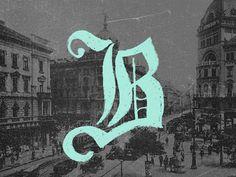 Budapest #lettering