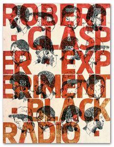 Patrice Barnabé #robert #jazz #print #barnab #letterpress #patrice #music #glasper #experiment
