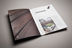Mareiner Holz - corporate identity & design on the Behance Network #print #booklet #brochure