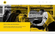 Medium #animation #yellow #popup #layout #web