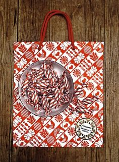 Sanna Annukka #shopping #design #graphic #sanna #candy #bag #annukka