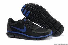 Nike Free 5.0 V4 Shoe Black Royal Mens #shoes