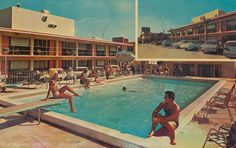 Motel New Yorker Miami, Florida | Flickr Photo Sharing! #pool #photography #vintage