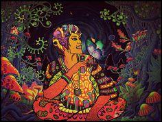 Digital Self Portrait by Shruti Anand #self portraits #patterns