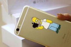 Homer iPhone 6 / 6 Plus Decal Sticker #tech #flow #gadget #gift #ideas #cool