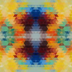Pattern Collage - the portfolio of sallie harrison #vector #pattern #color #geometric #wallpaper #patterns