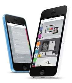 Portfolio UI on Behance