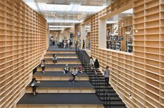 Sou Fujimoto: Bricks of paper and ink #libary #building #books