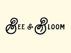 The Bees Knees by Nathan Yoder #typography