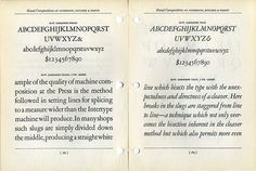Enjoy this 300 DPI scan of Morris Fuller Benton's Garamond. Which is not a Garamond, it's a Jannon. Type is confusing. #type #specimen #typography