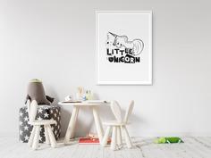 Little Unicorn Kids Scandinavian Wall Art