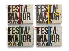 Festa Major — Ladyssenyadora #cover #brochure