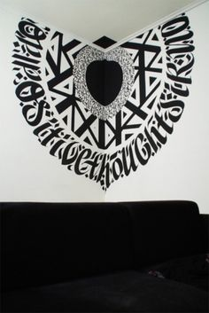 BLAQK #calligraphy #greg #lines #geometry #2012 #design #blaqk #papagrigoriou #simek