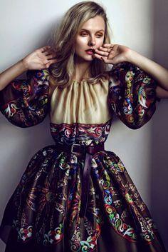 Kamila Filipcikova by Branislav Simoncik for Elle Czech #fashion #model #photography #girl