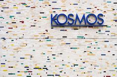 type novel #mosaic #cosmos #wall #typography