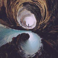 Spiral Landscapes by Nate Hill