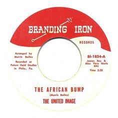 Center Of Attention | The Art Of Record Center Labels | The United Image – The African Bump #record #vinyl #inch #typography