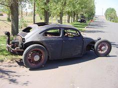 #vehicle #vw #bug #ratrod #black