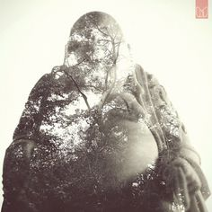 Double Exposure portraits | Fubiz ™ #photography #within