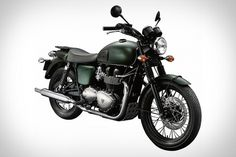 Triumph Bonneville T100 Steve McQueen Edition Motorcycle | Uncrate #bike #vintage #motorcycle #triumph