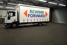PUMA Rewind/Forward - Inventory Studio #design #geometric #letters #truck #letter #forms #inventory