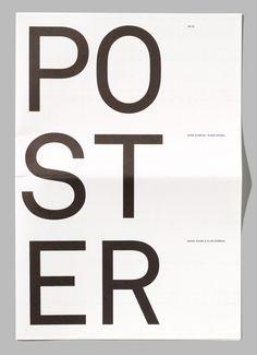 betype: Arjo Wiggins #minimal #poster #typography