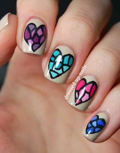 50 VALENTINE'S DAY NAIL ART IDEAS