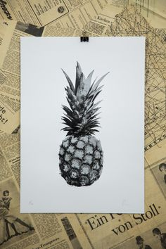 Pineapple Edition 5 Screen Print