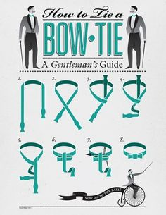 Brief / Relief #a #how #poster #bow #to #tie