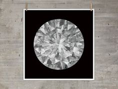 The Best Part | Moon Diamond Print #print #moon